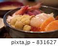 海鮮丼 831627