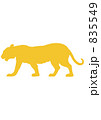 トラ(新興国の国獣・インド&年賀状素材) 835549