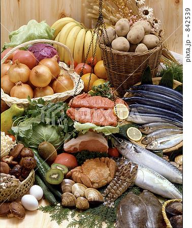 生鮮食品イメージの写真素材 [842539] - PIXTA