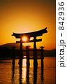 厳島神社・大鳥居 842936