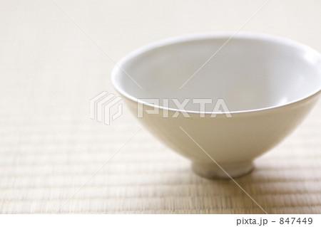 茶碗 食器 畳の写真素材 [847449] - PIXTA