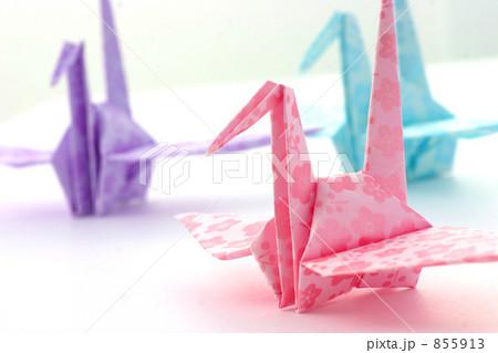 クリスマス 折り紙 折り紙 つる : pixta.jp