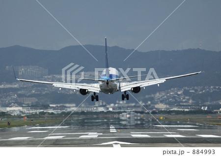写真素材: 飛行機の着陸