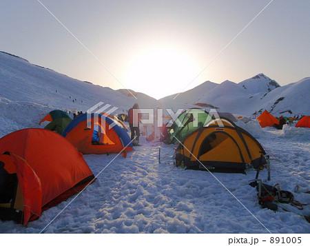 雪山 テント 891005