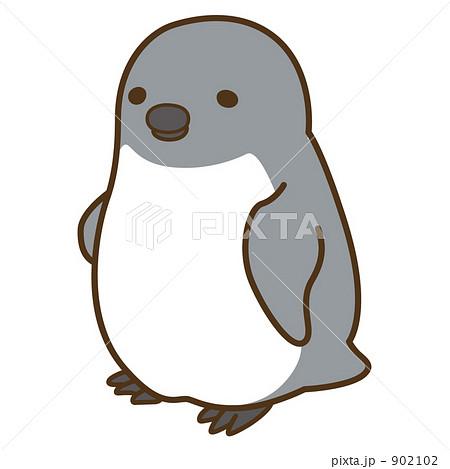 ペンギンの赤ちゃんのイラスト素材 902102 Pixta