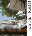パラソル ビーチチェア ビーチパラソルの写真 910815