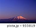 岩手山 冬山 雪山の写真 933819