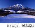 岩手山 冬山 雪山の写真 933821