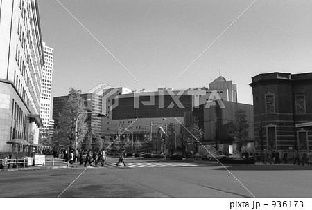 国鉄新幹線運行本部ビルと国鉄本社、東京駅 昭和56年 936173