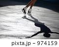 氷上 フィギュアスケート 影の写真 974159
