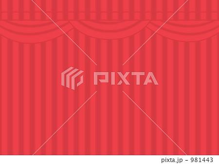 劇場(閉幕)のイラスト素材 [981443] - PIXTA