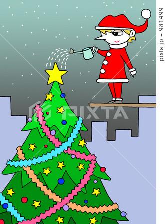 大きなクリスマスツリー 981499
