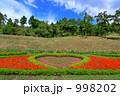 ハートの花壇 998202