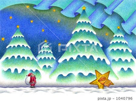 森の中のクリスマスイヴ 1040796