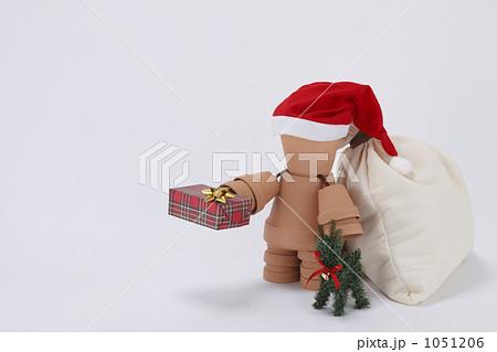 クリスマス植木鉢人形 1051206