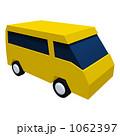バン イラスト ワゴンのイラスト 1062397
