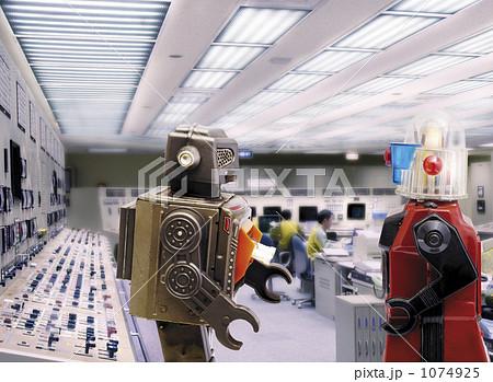 制御室のロボット 1074925