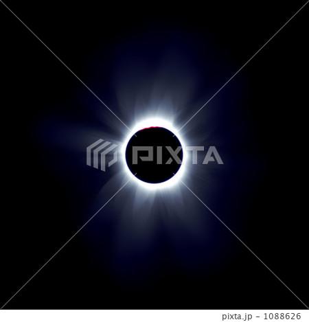 皆既日食 実写より使える、超高解像度リアルCG 1088626