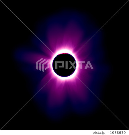 皆既日食 ダイナミックカラー 実写より使える、超高解像度リアルCG 1088630