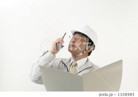 作業服を着たミドルビジネスマン 1108985