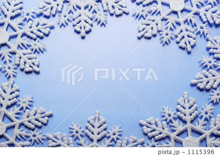 雪のフレーム