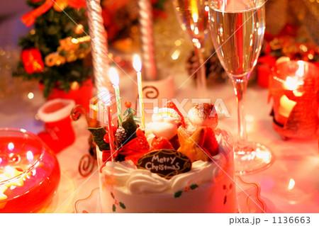 クリスマスケーキ 夜1 1136663