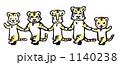 タイガー とら 寅のイラスト 1140238