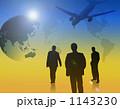 出張 海外出張 ワールドビジネスのイラスト 1143230