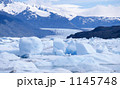 パタゴニア ペリトモレノ 流氷の写真 1145748