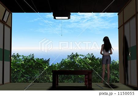 海が見える家01 1150055