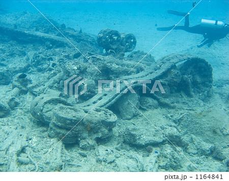 海底に残された戦車 1164841