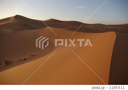 朝焼けのナミブ砂漠 1195511