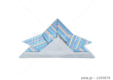兜 紙製品 和柄の写真素材 [1205679] - PIXTA