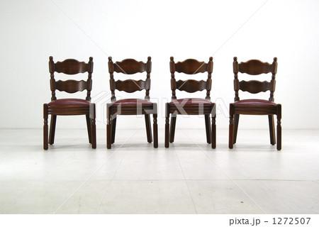ダイニングチェア 正面 家具の写真素材 [1272507] - PIXTA