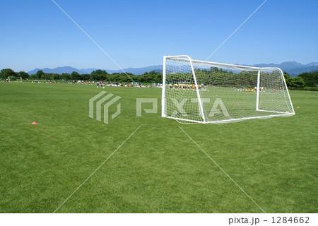 長野県長野市屋島河川敷サッカー場は、翔ねサッカーのメッカ。 1284662