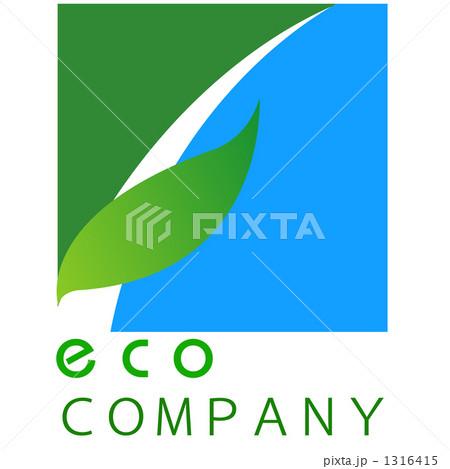 ロゴ エコ 1316415