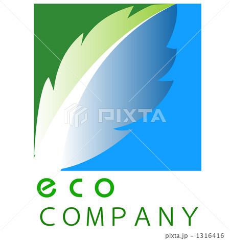 ロゴ エコ 1316416