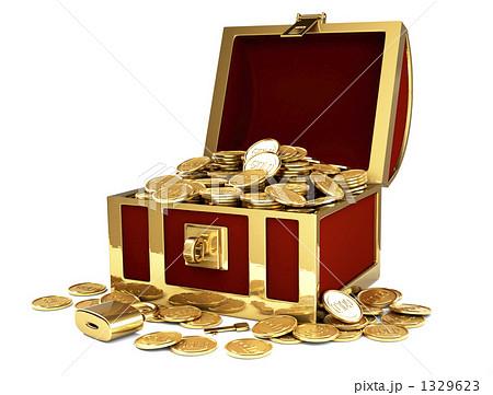 宝の箱のイラスト素材 [1329623] - PIXTA