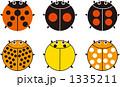 ベクター てんとうむし てんとう虫のイラスト 1335211