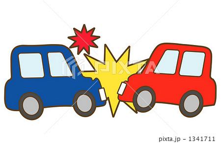 交通事故のイラスト素材 [1341711 ...