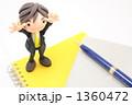 スーツ サラリーマン ノートの写真 1360472