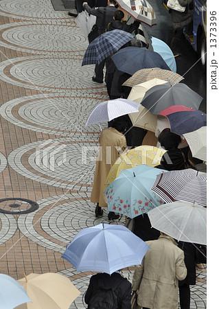 雨のバス停 1373396