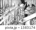鉛筆画 想像画 メルヘンのイラスト 1383174