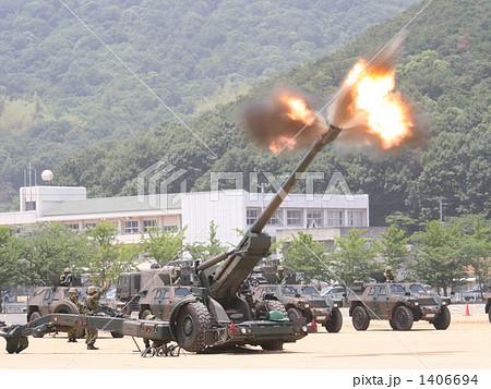 大砲発射の写真素材 [1406694] - PIXTA