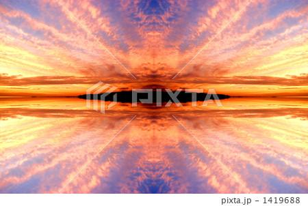 夕暮れ空の背景 1419688