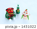 門松 正月飾り 獅子舞の写真 1431022