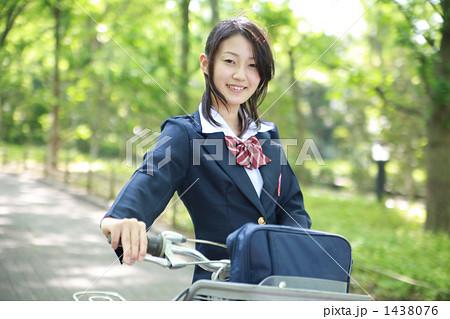 自転車の 通学自転車 : 自転車通学の写真素材 [1438076 ...