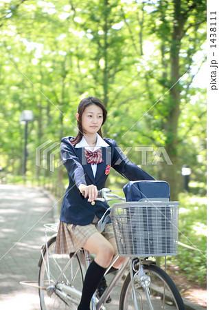 自転車の 通学自転車 : 自転車通学 1438111