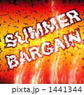 サマーバーゲン bargain バーゲンのイラスト 1441344