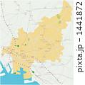 船橋市の地図 1441872
